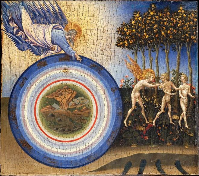Stworzenie świata I Wygnanie Z Raju Obraz Giovanni Di Paolo