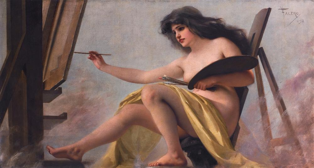 acdd01ddb6b8b5 Kobiety w malarstwie Luisa Falero