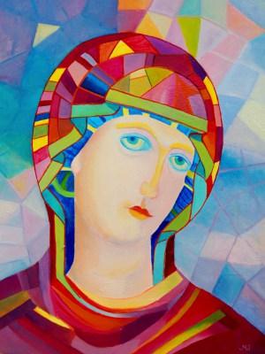 Nowoczesny wizerunek Matki Bożej