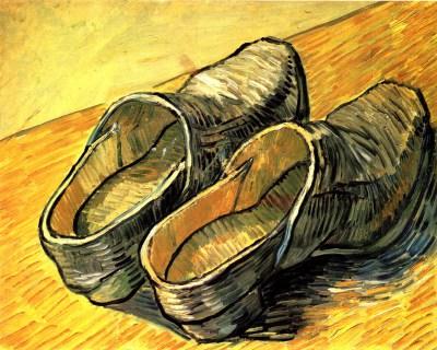 Van Gogh Buty Buty Van Gogha Reprodukcja