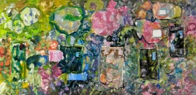 Bukiety - ja i Cezanne, 2016