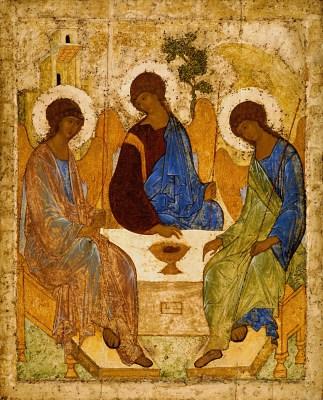 Andriej Rublow, ikona Trójca Święta