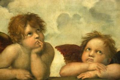 Aniołki obrazy, Rafael