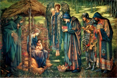 Gwiazda Betlejemska obraz,Edward Burne-Jones