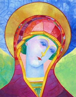 Ikona Matka Boża Zamyślona