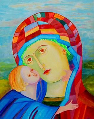 Madonna z Dzieciątkiem Włodzimierska