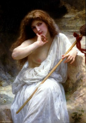 William Adolphe Bouguereau – Bachantka – reprodukcja