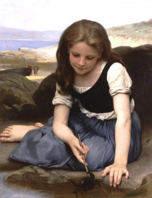 William Adolphe Bouguereau – Krab – reprodukcja