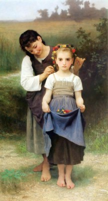 William Bouguereau – Polne klejnoty – reprodukcja obrazu
