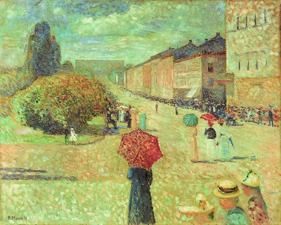Edvard Munch, Wiosna na ulicy Karla Johana
