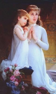 Modlitwa dziewcząt, Émile Munier