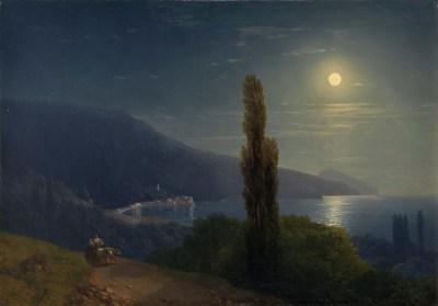 Iwan Ajwazowski, Światło księżyca