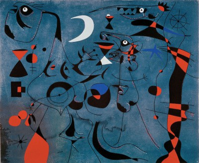 Joan Miró, André Breton, Konstelacje