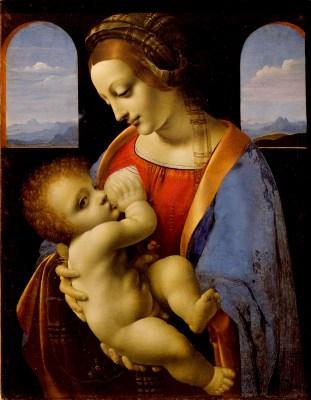 Leonardo da Vinci, Madonna karmiąca