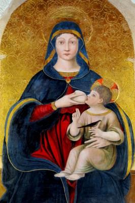 Madonna karmiąca z Brunello