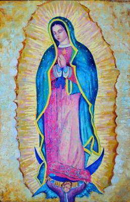Matka Boska z Guadalupe – obraz współczesny