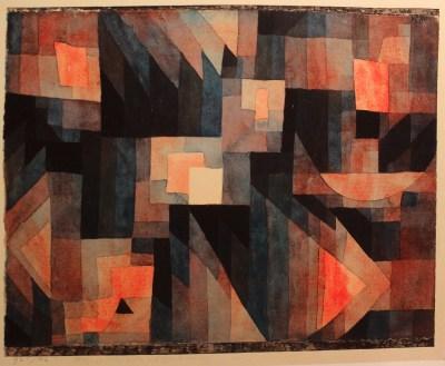 Paul Klee, Gradacja