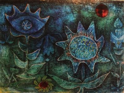 Paul Klee, Kwiaty w nocy