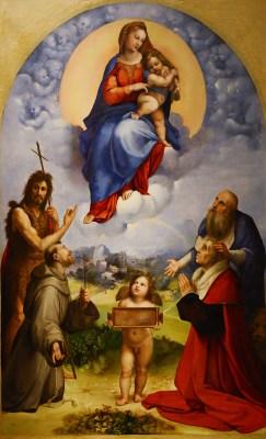 Rafael Santi, Madonna di Foligno