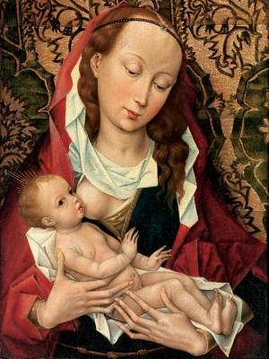 Rogier van der Weyden, Madonna karmiąca