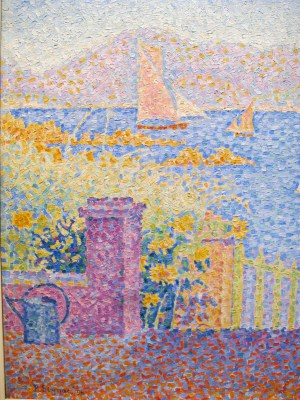 Signac, Widok na port w Saint-Tropez