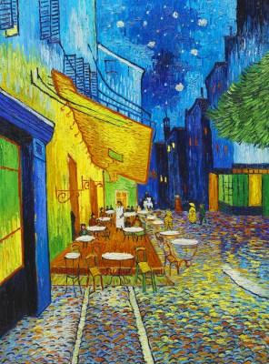 Van Gogh Taras Kawiarni W Nocy