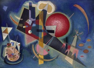 Wassily Kandinski, W kolorze niebieskim