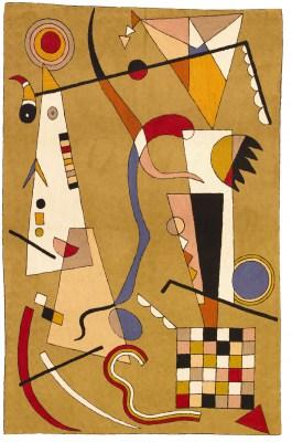 Wassily Kandinsky, Airplane Rug