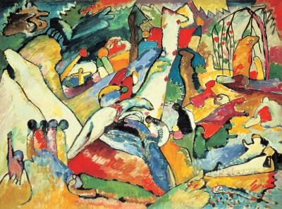 Wassily Kandinsky, Kompozycja 2, szkic