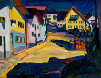 Wassily Kandinsky, Murnau, Burggabenstrasse 1