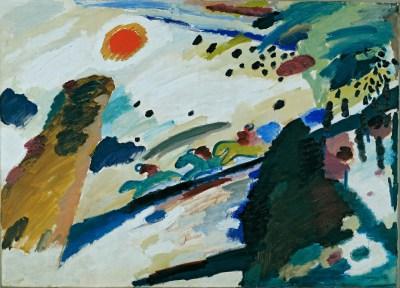 Wassily Kandinski, Pejzaż romantyczny